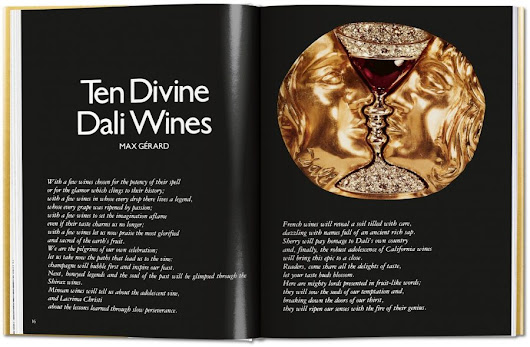 Salvador Dali's 1978 Wine Guide, The Wines of Gala, Gets Reissued: Sensual Viticulture Meets Surreal Art