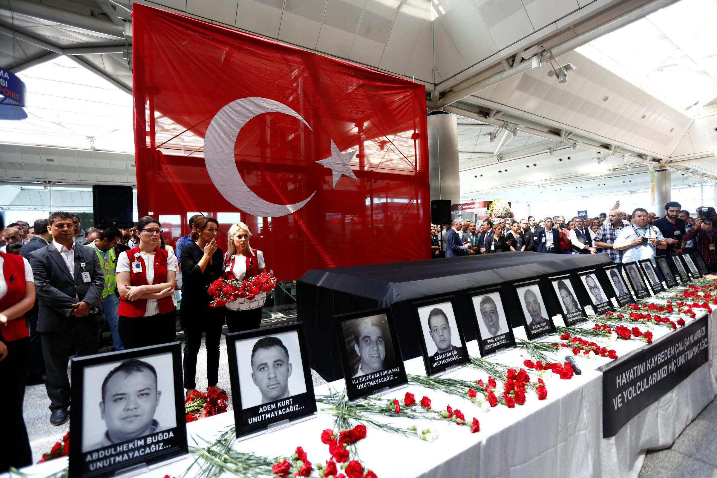 istanbul airport attack memorial