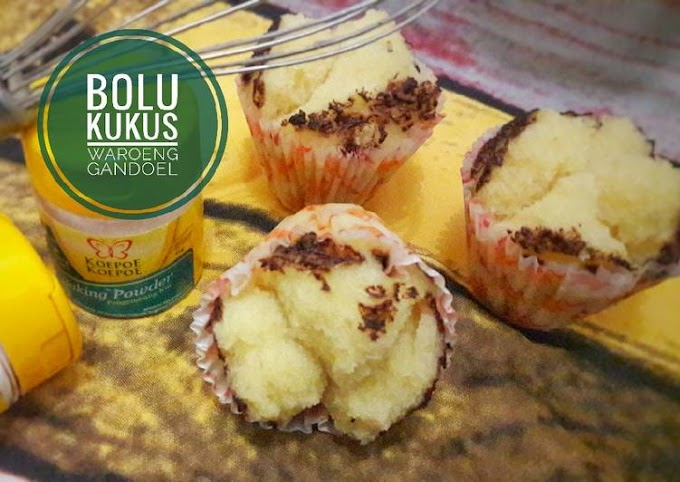 Resep Bolu Kukus No Mixer & No Telur Anti Gagal