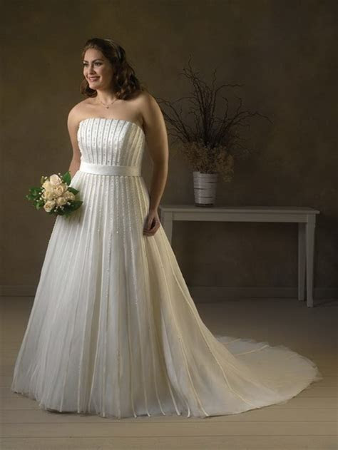 Plus size wedding dresses designers