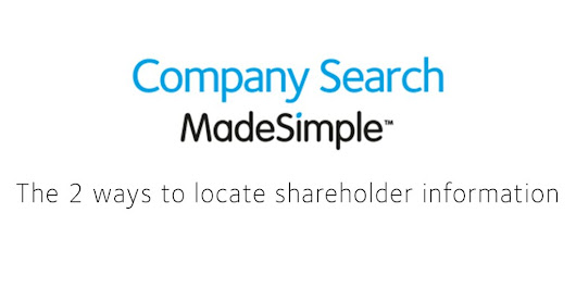 how to find limited company shareholder information