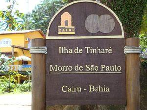 Morro de São Paulo Sign