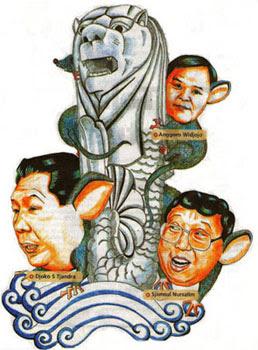 Singapura Fasilitasi Korupsi di Indonesia