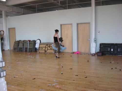 Rehearsal for Gossip Girl Shoot