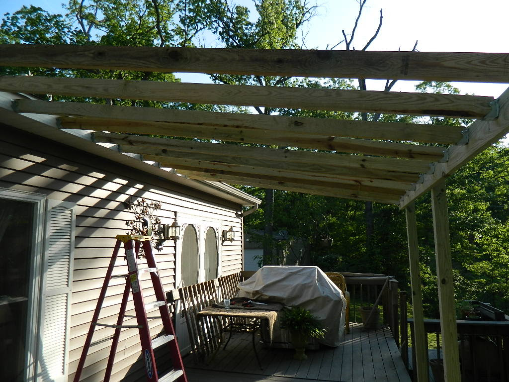 Building A Deck Roof Deck Design And Ideas