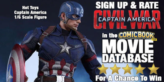 Rate Captain America: Civil War To Win A 1/6 Scale Figure