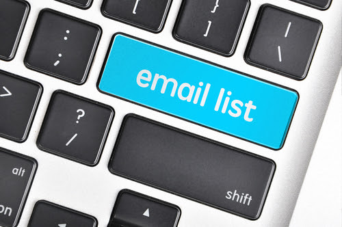 How to build an email list |
