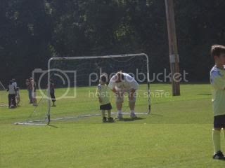 Ashlyne as goalie