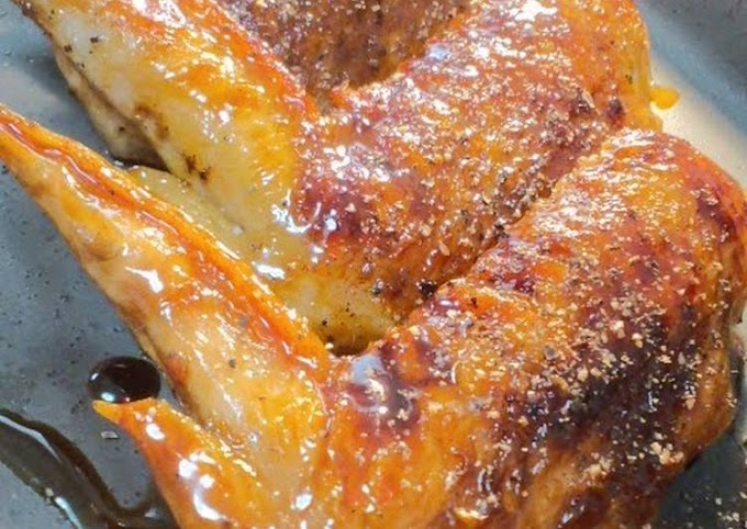 How to Prepare Homemade Diet Friendly, Spicy Non-fried Chicken Wings