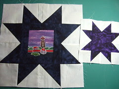 Lighthouse quilt 003