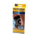 Futuro Moisture Control Knee Support Brace, Black, Medium