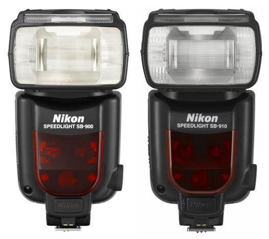 Nikon SB 900 vs SB 910 comparison front Nikon SB 900 vs. SB 910 Speedlight comparison