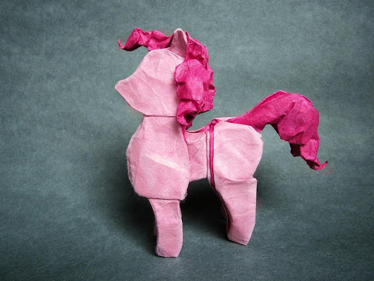 This My Little Pony Origami will Blow Your Horseshoes Off!
