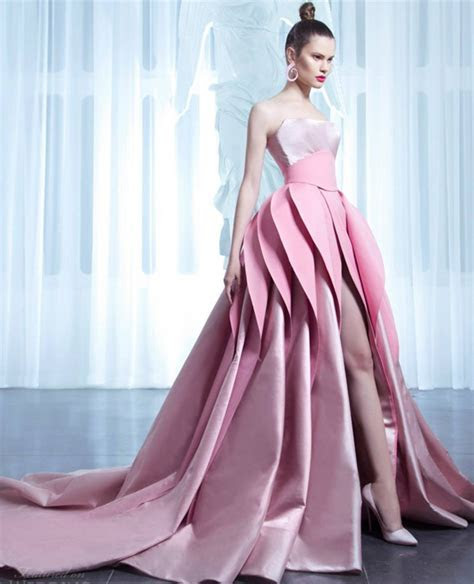2017 New Arrival Designer Pink Wedding Dresses With