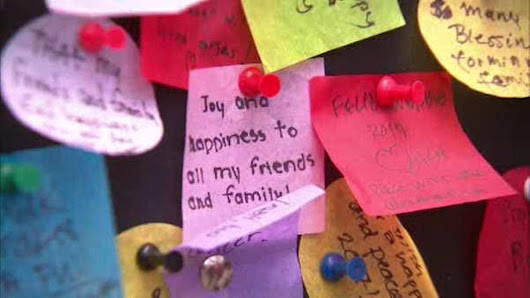 What's your wish for 2017? Tell the Times Square 'wishing wall' |