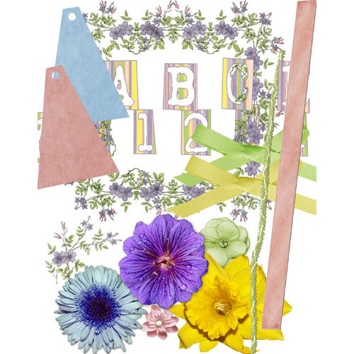 E-Kit Elements (Digital Scrapbooking) - Garden Path 2