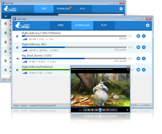 Vuze Bittorrent Client - The Most Powerful Bittorrent Software on Earth