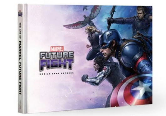 Marvel Future Fight New Cards from Art Book available | Product Reviews Net