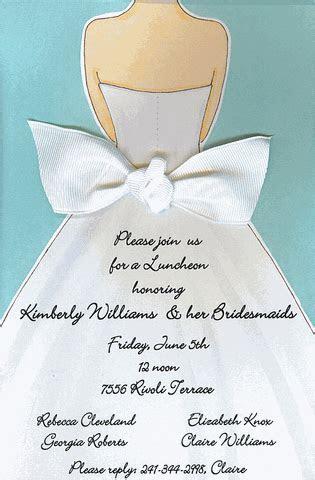 Here Comes The Bride Invitations   Shower invitations