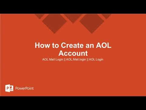 How to Create an AOL Account