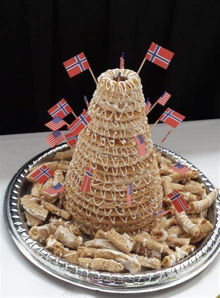 Kransekake   Norwegian almond cake   A Simple Homestead