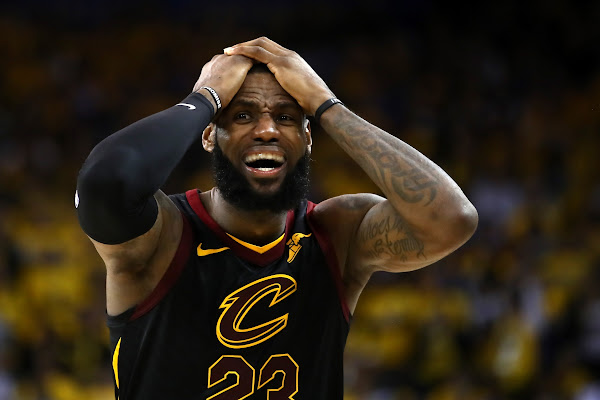 269ff40bb0e Everything Was Strange About Game 1 — Except The JR Smith Gaffe