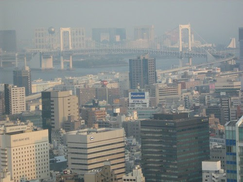 View From Top Of Tokyo Tower