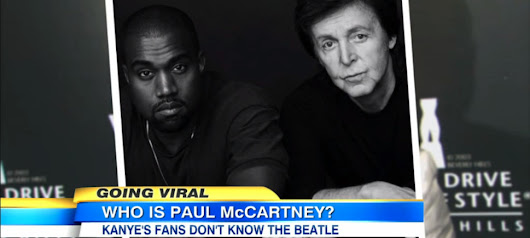 The Media Got Trolled Into Thinking Kanye West Fans Don't Know Who Paul McCartney Is | NOISEY