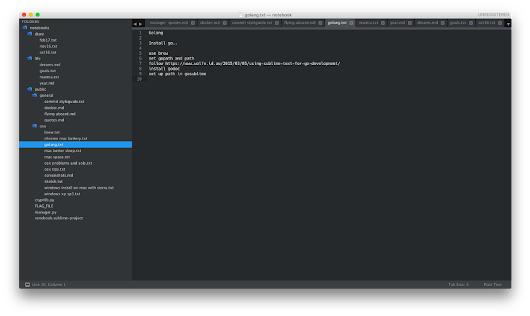 Sublime Notebook: An attempt to use Sublime Text as my note taking application – aviaryan