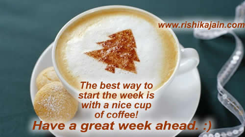 Good Morninghave A Great Week Ahead Inspirational Quotes