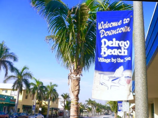 Atlantic Avenue, Delray Beach, Named  1 of Top 10 Shopping Streets in USA