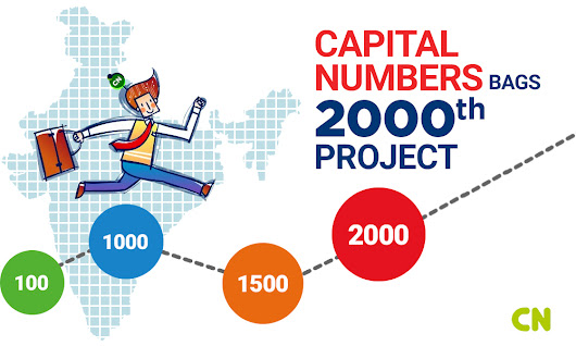 Capital Numbers Bags 2000th Project