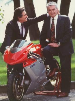 Claudio Castiglioni with Massimo Tamburini
