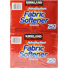 Kirkland Fabric Softener Sheets, Refreshing Scent - 2 pack, 250 sheets