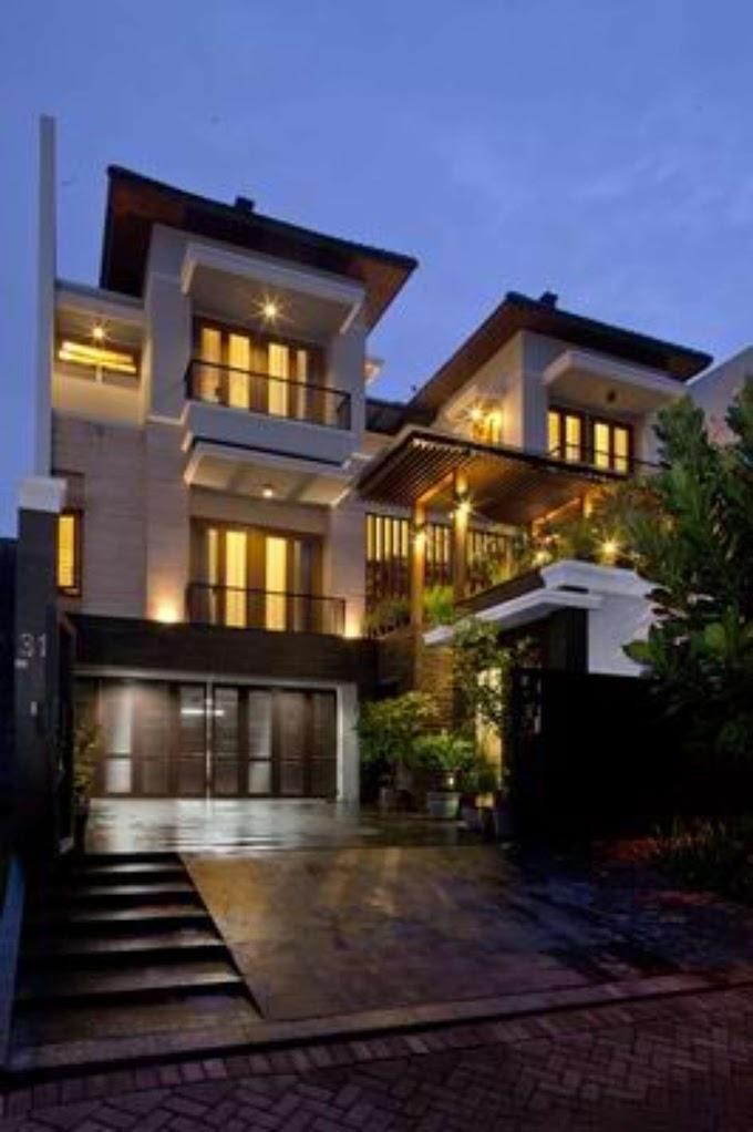 Dapur Cokelat Pantai Indah Kapuk | Ide Rumah Minimalis