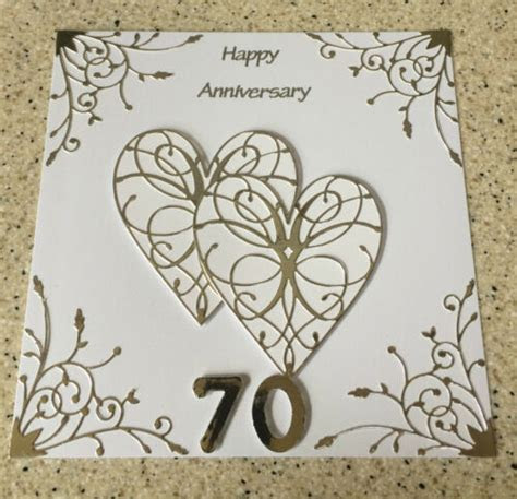 70th Wedding Anniversary Cards collection on eBay!
