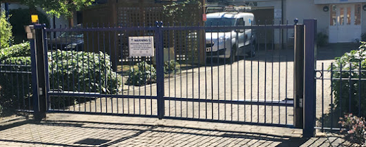 Providing Automatic Gates installations for Cheshunt Businesses | 1st Choice Security Systems