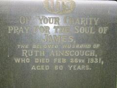 James Ainscough (1870-1931) & Ruth Ainscough (?-?)