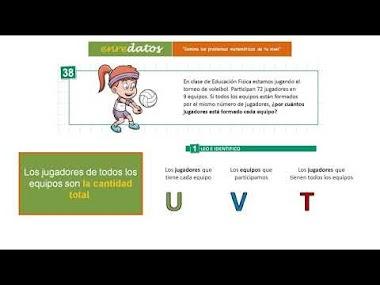 VÍDEO 7 - LA RELACIÓN DE MULTIPLICACIÓN-DIVISIÓN: Resolviendo un problema de división (2)