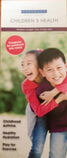 Childrens Health Publix Pharmacy Coupon Pamphlet for August: Childrens Health