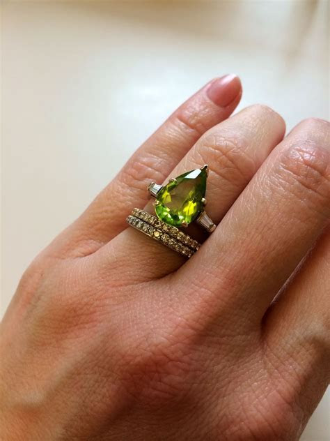 Do Try Some Peridot Engagement Rings When Looking For Some