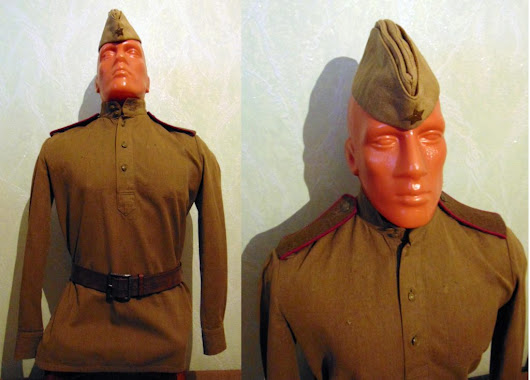WW2 Red army uniform, infantry | Русский Париж