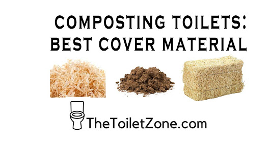Best Cover Material for Composting Toilets | The Toilet Zone