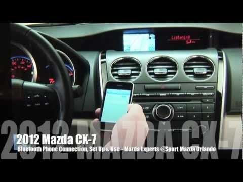 Don Mealey Sport Mazda >> LivingwithMyMazda.com: 2012 Mazda CX-7 Bluetooth Setup