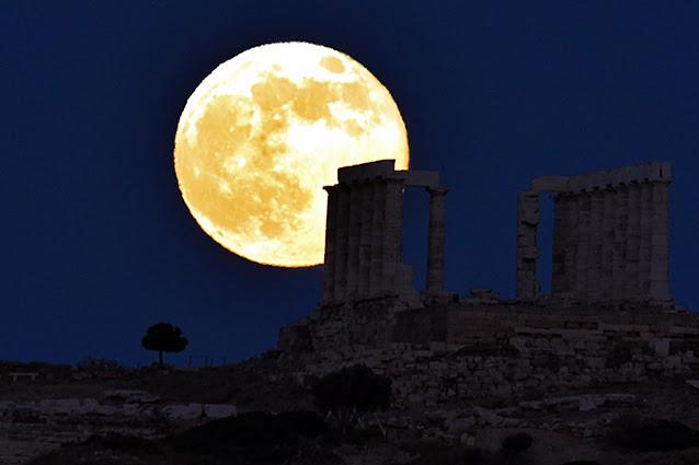 Sabato arriva la superluna: sarà più grande e luminosa.