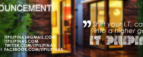 IT Pilipinas acquired by Humane Strategic Consulting and will be using ITPilipinas.com as domain name