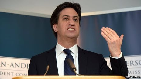 BBC News - Miliband: 'Home Rule Bill' for Scotland within 100 days of Labour win