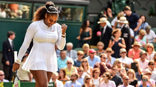 It's as if Wimbledon finalist Serena Williams never left the game at all