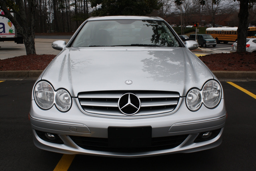 2008 Mercedes-Benz CLK350 Coupe | Diminished Value Car ...