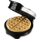 """Oster Belgian Waffle Maker, Stainless Steel, 8"""""""